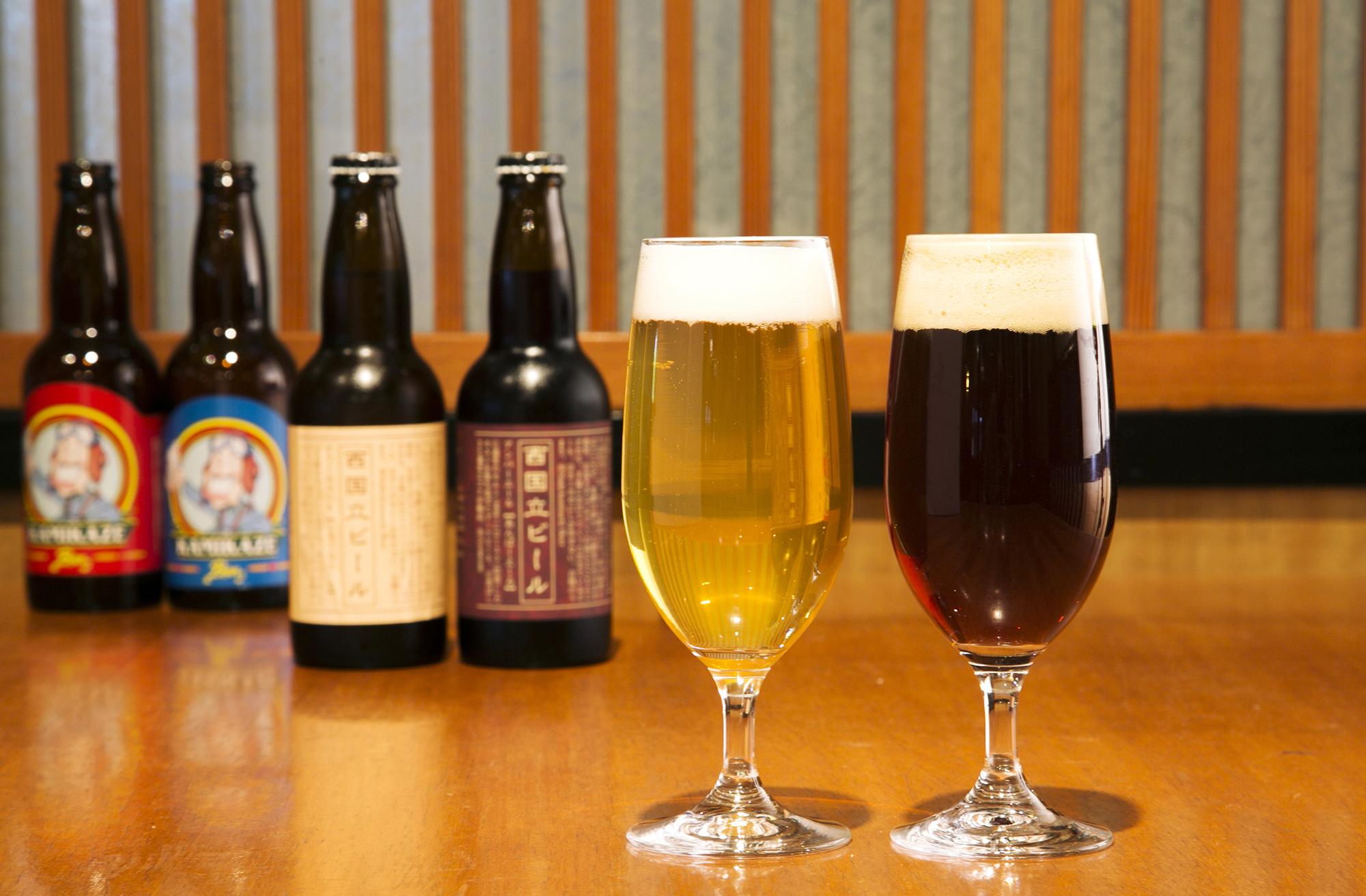 立川でしか買えない地ビールをお土産にしてはいかがですか