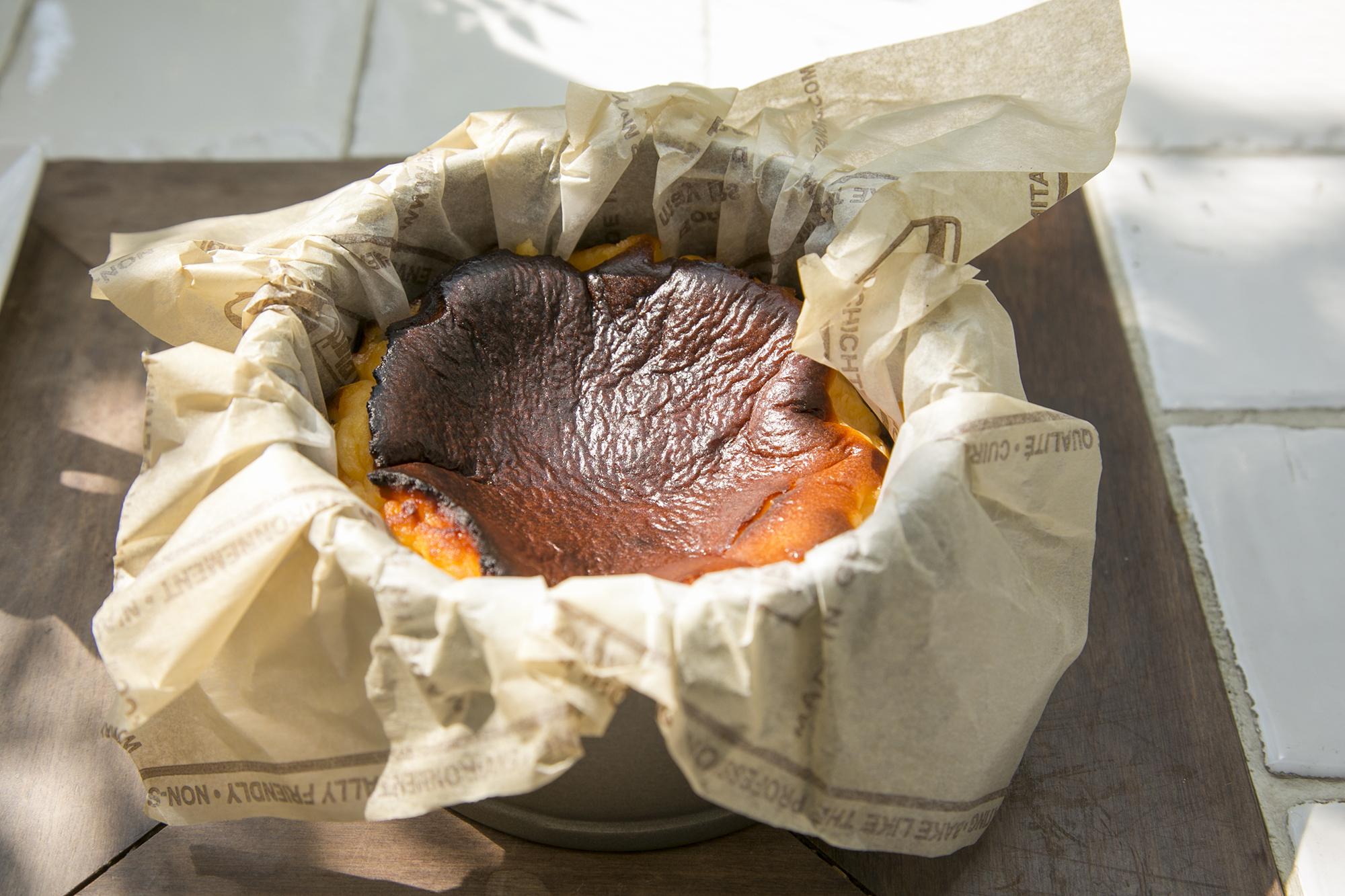 チーズ好きにもスイーツ好きにもおすすめなのは、ガーデン&クラフツ カフェのコルテッツァチーズケーキ。