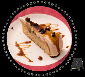 炭火焙煎珈琲 桜乃 立川店の黒糖ショートケーキ