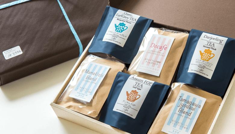 咖啡豆烘培工房 MAMEKICHI  礼盒套装